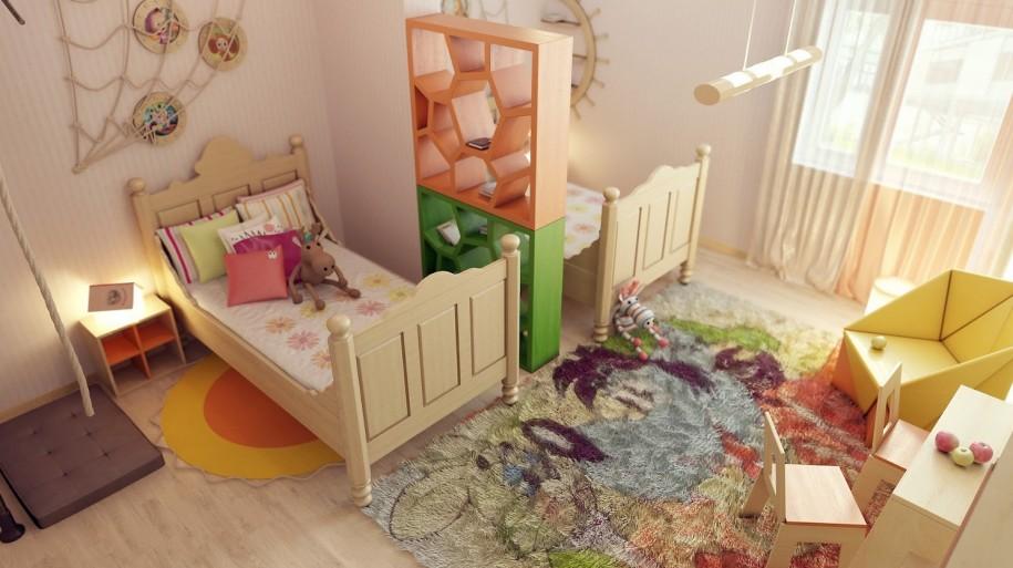 Кто как сделал детскую комнату